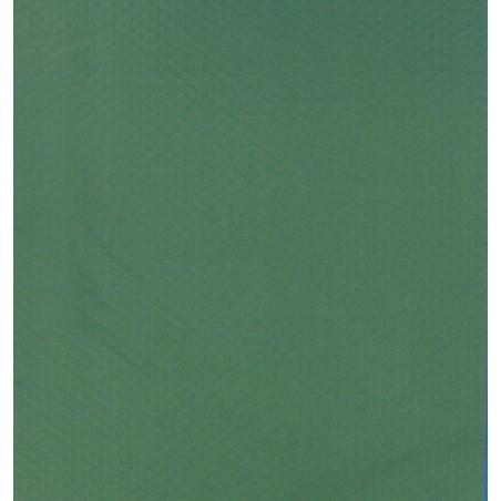 Mesa de papel desechable en relieve verde oscuro 30x40 cm - 1000's