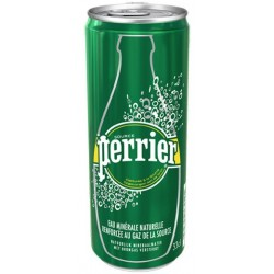 Wasser PERRIER Metallbox 33 cl