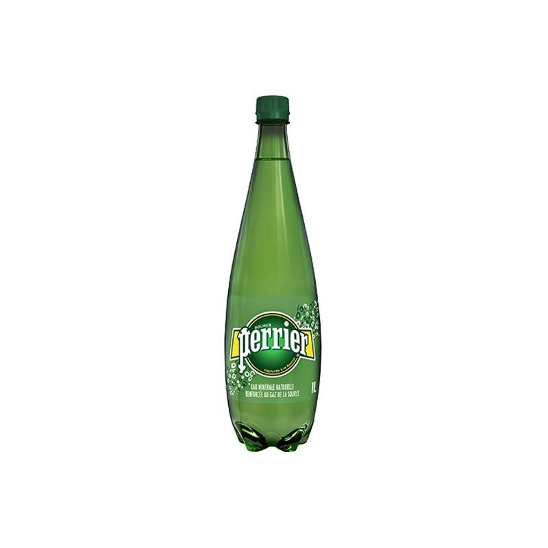 Agua PERRIER botella de plástico 1 L