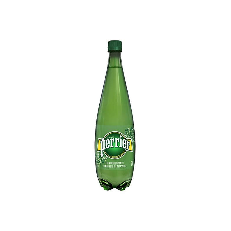 Water PERRIER plastic bottle 1 L