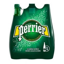 Water PERRIER plastic bottle 1 L