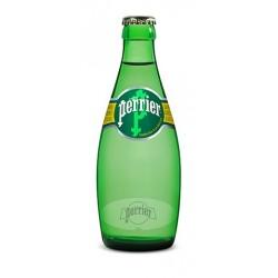Eau PERRIER 24 bouteilles de 33 cl en verre consigné (consigne de 4,20 € comprise dans le prix)