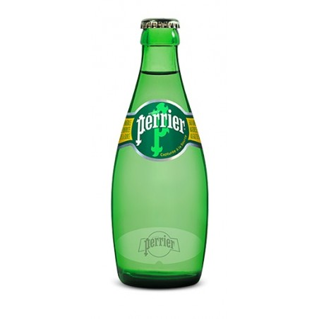 Agua PERRIER 24 botellas de 33 cl en vidrio retornable (depósito de 4,20 € incluido en el precio)
