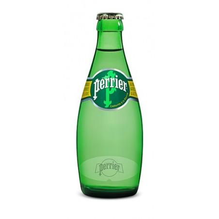 Wasser PERRIER 24 Flaschen à 33 cl im Glas (Kaution von 4,20 € im Preis inbegriffen)