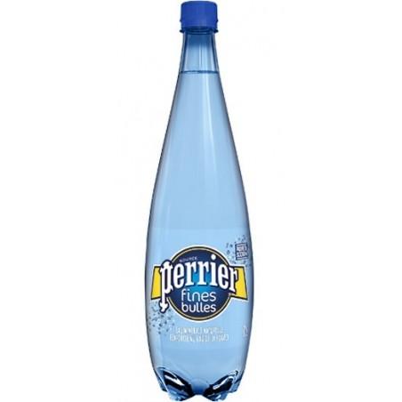 Water PERRIER Fine Bubbles blue plastic bottle 1 L
