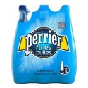 Eau PERRIER Fines Bulles bouteille en plastique bleue 1 L