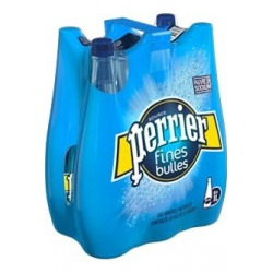 Acqua PERRIER Belle bollicine bottiglia di plastica blu 1 L