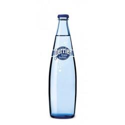 Agua PERRIER Fine Bubbles 20 botellas de 50 cl en vidrio retornable (depósito de 4,80 € incluido en el precio)