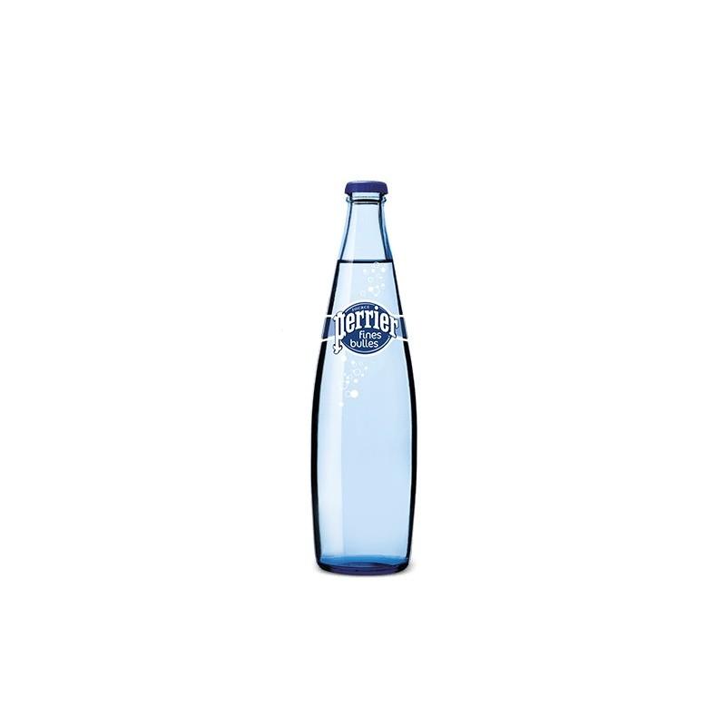 Eau PERRIER Fines Bulles 20 bouteilles de 50 cl en verre consigné (consigne de 4,80 € comprise dans le prix)