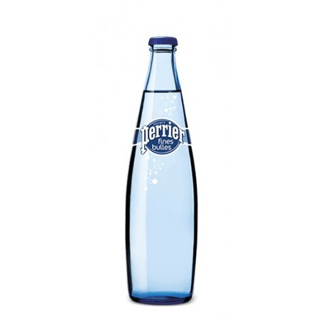 Water PERRIER Fine Bubbles 20 bottles of 50 cl in returnable glass (deposit of 4.80 € included in the price)