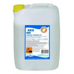 Nettoyant Lave Vaisselle liquide KEO pour machine Professionnelle et Particulière - Bidon 24 kg