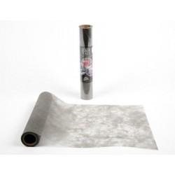 Tisch laufen Polytulle GRAU Breite 30 cm - die Rolle von 10 m