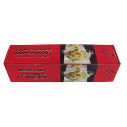 CLINGFILM with dispenser box with ZIP CUT thickness 8 μ width 30 cm - the roll of 300 m
