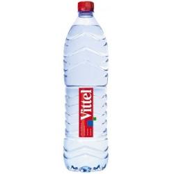 Botella plástica de agua VITTEL PET 1,5 L