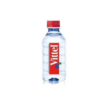 Botella plástica de agua VITTEL PET 50 cl