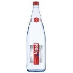 Agua VITTEL - 12 botellas de 1 L en vidrio retornable (depósito de 4,20 € incluido en el precio)