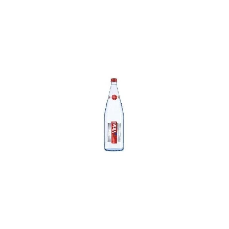 Acqua VITTEL - 12 bottiglie da 1 L in vetro a rendere (deposito di 4,20 € incluso nel prezzo)