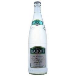 Agua BADOIT - 12 botellas de 1 L en vidrio retornable (depósito de 4,20 € incluido en el precio)