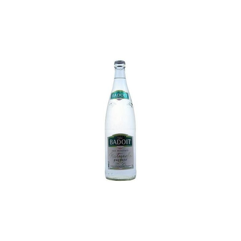 BADOIT water - 12 bottles of 1 L in returnable glass (deposit of 4.20 € included in the price)
