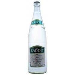 BADOIT Wasser - 20 Flaschen von 50 cl in Mehrwegglas (Kaution von 4,80 € im Preis inbegriffen)