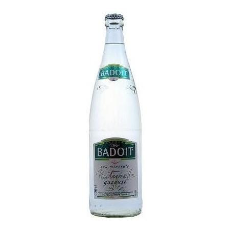 Agua BADOIT - 20 botellas de 50 cl en vidrio retornable (depósito de 4,80 € incluido en el precio)