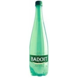 Water BADOIT PET plastic bottle 1 L