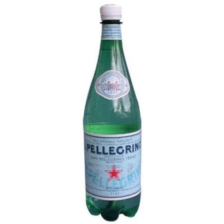 Eau SAN PELLEGRINO bouteille plastique PET 1 L