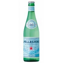 SAN PELLEGRINO Wasser - 20 Flaschen 50 cl in Mehrwegglas (Kaution von 4,80 € im Preis inbegriffen)