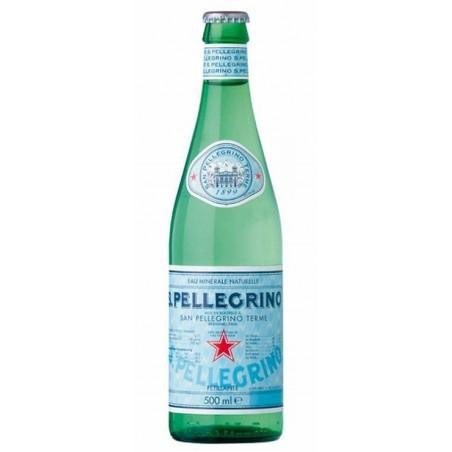 Acqua SAN PELLEGRINO - 20 bottiglie da 50 cl in vetro a rendere (deposito di 4,80 € incluso nel prezzo)