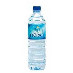 Eau HEPAR bouteille plastique PET 1 L