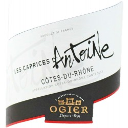 Caprices by Antoine OGIER COTES DU RHONE Red wine AOC 75 cl