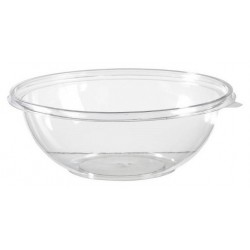 BOWL 4.5 L transparent crystal plastic APET