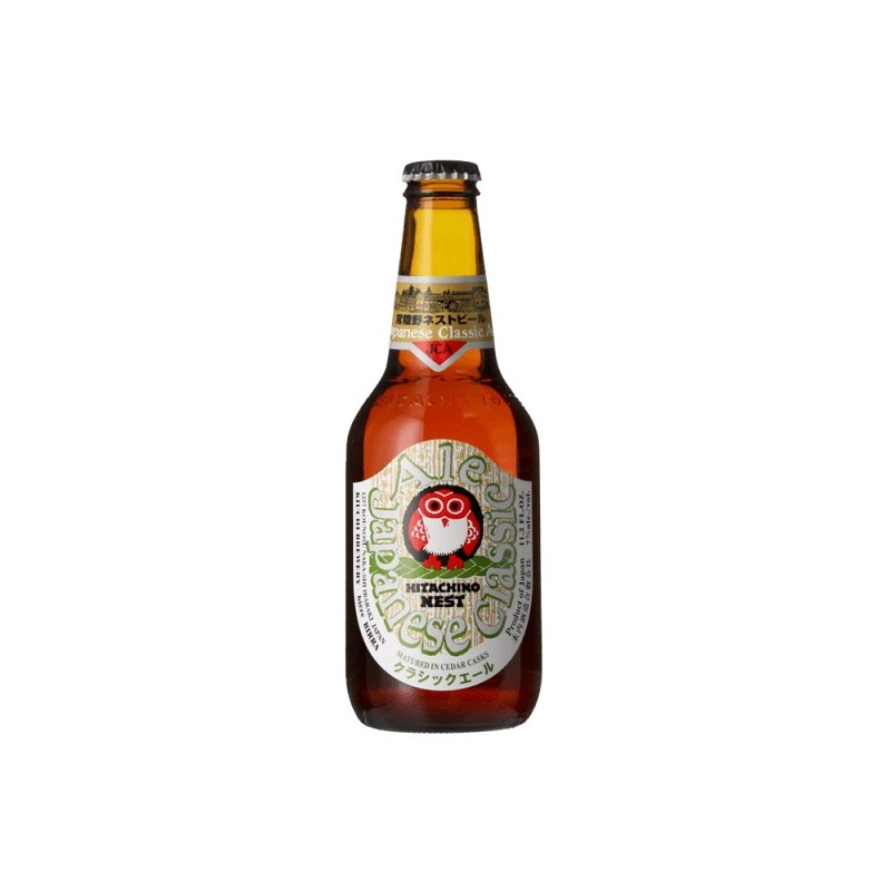 Beer HITACHINO NEST CLASSIC ALE amber Japan IPA 7 ° 33 cl