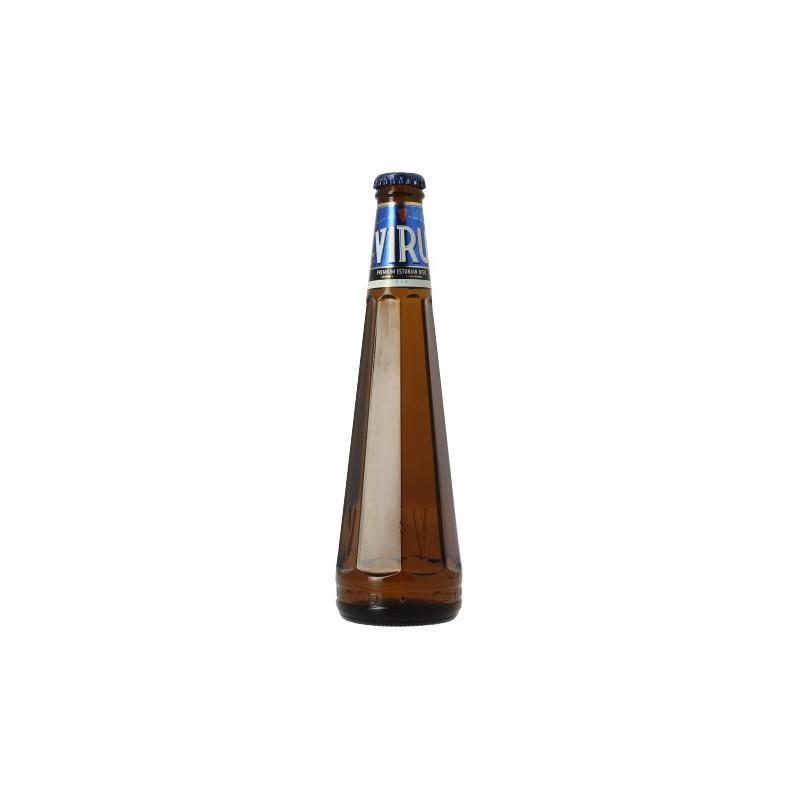 Bière VIRU PREMIUM Blonde Estonie 5° 30 cl