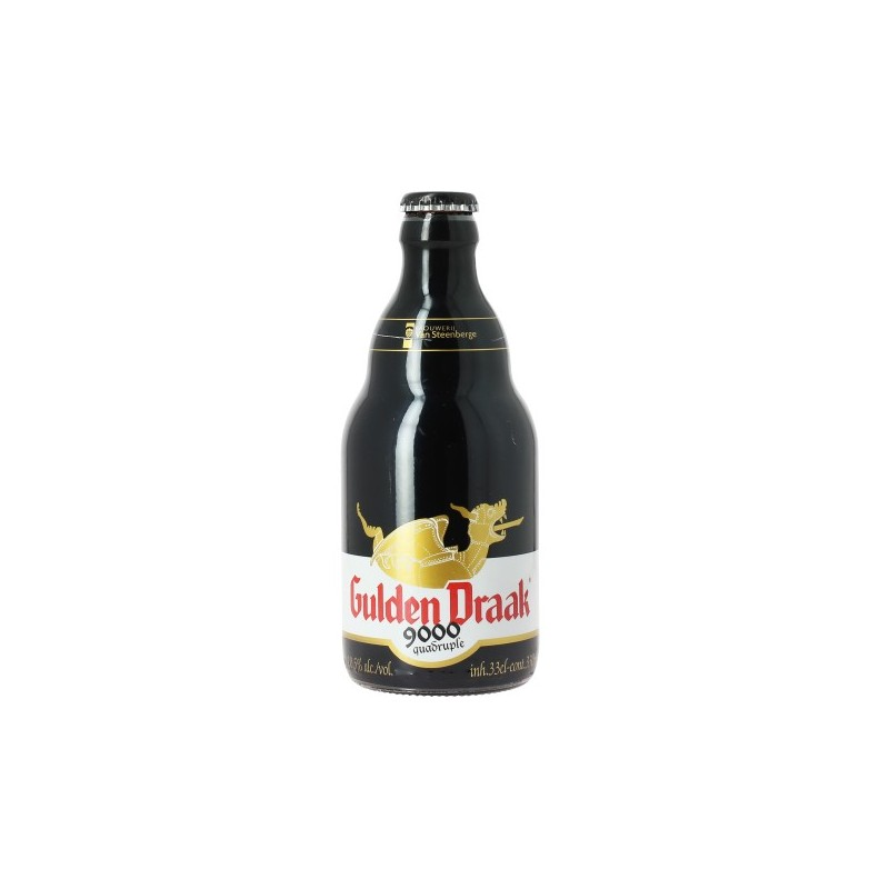 Beer GULDEN DRAAK 9000 Quadruple Belgian Ambrée 10,5 ° 33 cl