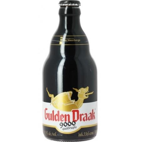 Bier GULDEN DRAAK 9000 Vierbettzimmer Belgische Ambrée 10,5 ° 33 cl