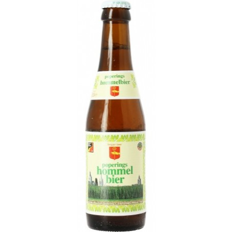 Bière HOMMEL BIER Bonde Belge 7,5° 33 cl