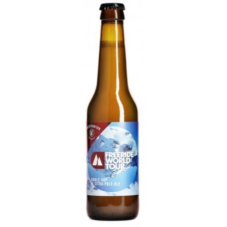 Bier WHITE FRONTIER FWT Freeride Welttour Schweizer Blond 5 ° 33 cl