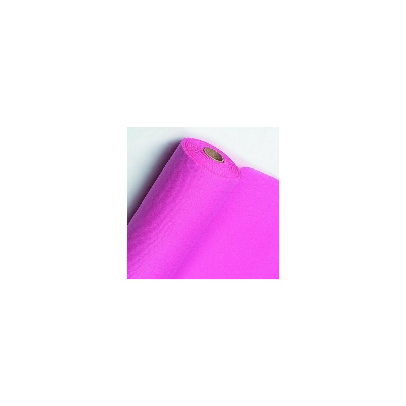 Non-woven Table Runner Fushia pink width 40 cm - the roll of 24 m (pre-cut every 30 cm)