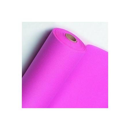 Runner non tessuto rosa fucsia larghezza 40 cm - il rotolo di 24 m (pretagliato ogni 30 cm)
