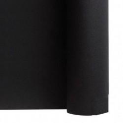 Run da tavolo non tessuto NERO larghezza 40 cm - il rotolo di 24 m (pretagliato ogni 30 cm)