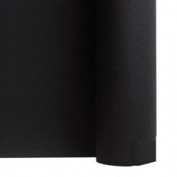 Tisch laufen Vlies BLACK Breite 40 cm - die Rolle von 24 m (vorgeschnitten alle 30 cm)