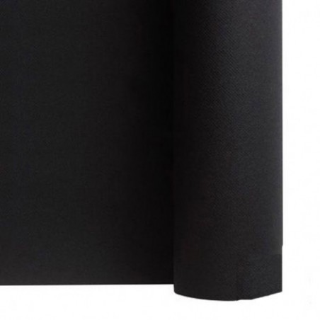 Table runner nonwoven BLACK width 40 cm - the roll of 24 m (pre-cut every 30 cm)