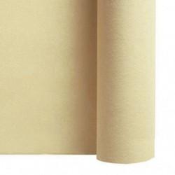 Tisch laufen Vlies ELFENBEIN Breite 40 cm - die Rolle von 24 m (vorgeschnitten alle 30 cm)