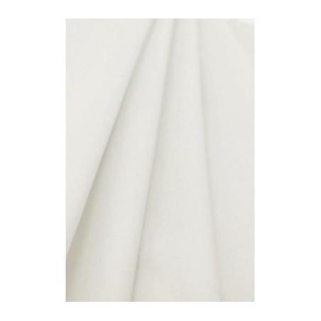 Tovaglia bianca in carta non tessuta larghezza 1,20 m - rotolo di 50 m