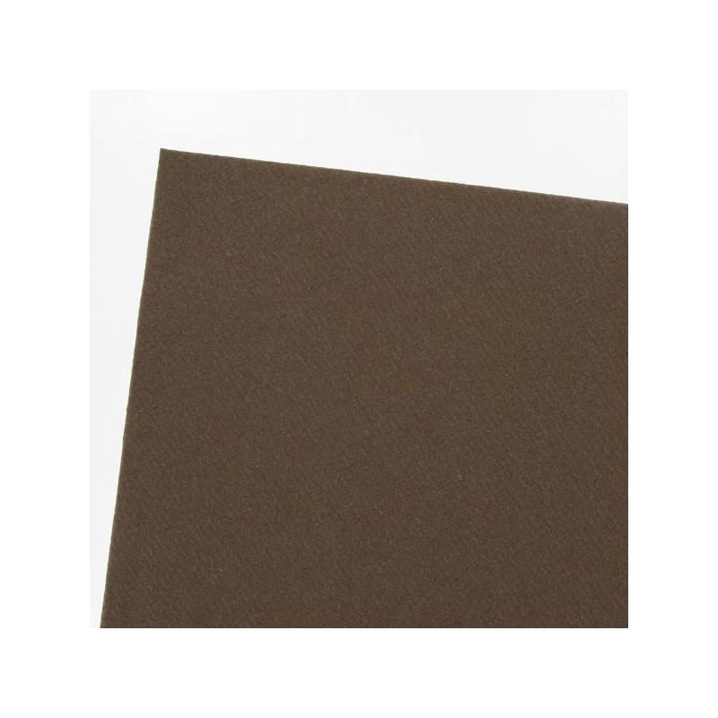 Nappe Marron Chocolat en papier intissé largeur 1,20 m - le rouleau de 25 m
