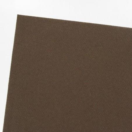 Mantel marrón chocolate en papel no tejido ancho 1.20 m - rollo 25 m