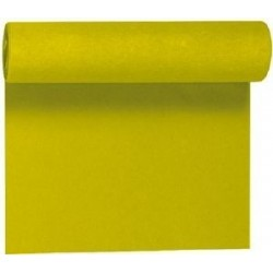 Kiwi green tablecloth in non-woven paper width 1.20 m - the 25 m roll
