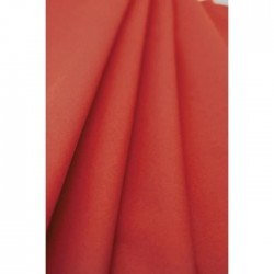 Red tablecloth in non-woven paper width 1.20 m - the 25 m roll