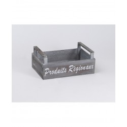 Wooden crates Gray Local Products